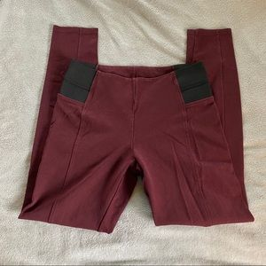 Pants - Maroon skinny leggings large